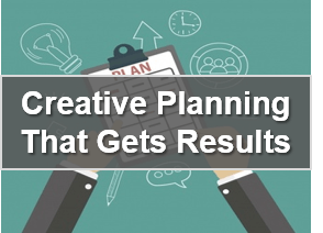 Business course -  creative planning