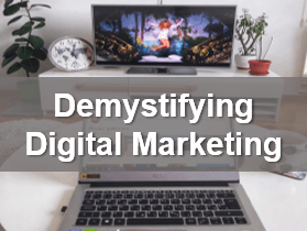 Digital marketing -  Business webinar