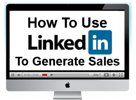 Generate sales on Linedin -  Business webinar