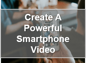 Create video on smartphone - Business webinar