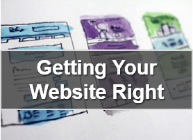 Business course - getting your website right