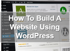 Build a webiste on wordpress - business webinar