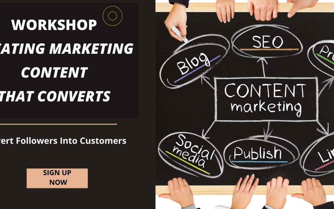 Creating Marketing Content that Converts